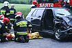 Trzy osoby poszkodowane