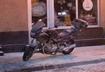 Zapalił się motocykl